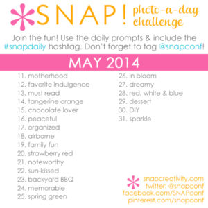 Instagram photo-a-day challenge for May #snapdaily