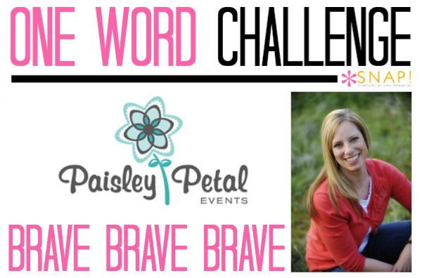 One Word Goal Paisley Petal Events