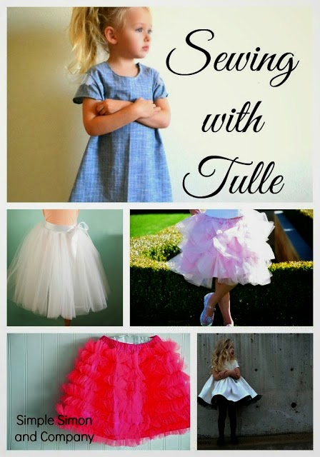 Tulle Collage