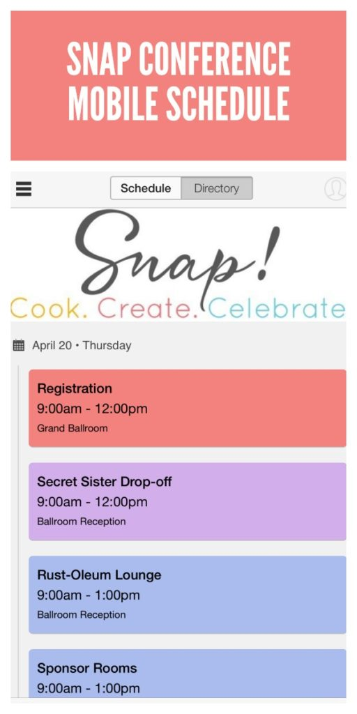 How to add the Snap Conference 2017 Mobile Schedule to your phone.
