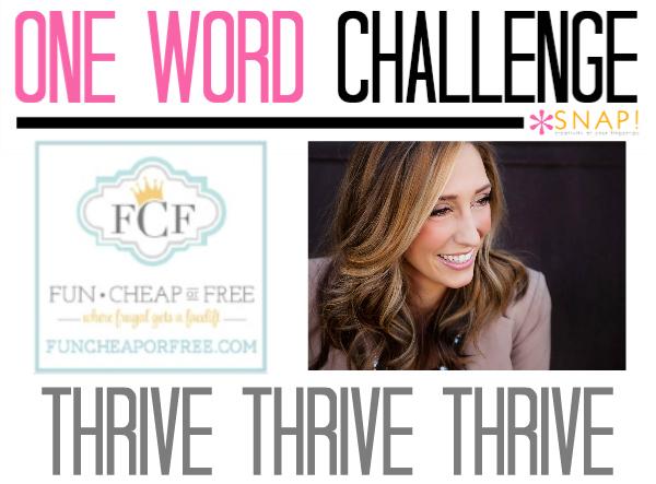 One Word Goal Fun Cheap or Free