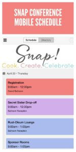 Snap 2017 Schedule Mobile Download